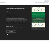 APA Style Citation Tutorial