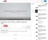 Einführung in Java mit BlueJ - Kapitel 8: Arrays und Listen