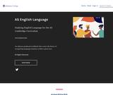 AS English Language