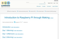 Introduction to Raspberry Pi through Making