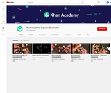 Khan Academy Organic Chemistry