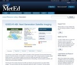 GOES-R ABI: Next Generation Satellite Imaging