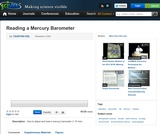 Reading a Mercury Barometer