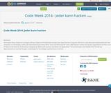 Code Week 2014 - Jeder kann hacken