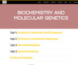 Biochemistry and Molecular Genetics