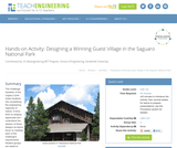 Designing a Winning Guest Village in the Saguaro National Park