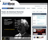 Twain: An American Humorist