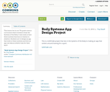 Body Systems App Design Project