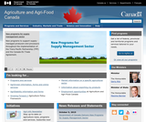 Agriculture and Agri-Food Canada Online