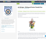 Art Bridges - Hildegard Center: Family Tree