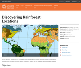 Discovering Rainforest Locations