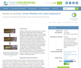 Linear Models and Latex Explosion!