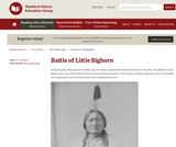 Reading Like a Historian: The Battle of the Little Bighorn
