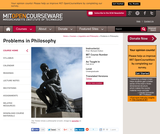 Problems in Philosophy, Fall 2010