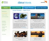 Global Words: Junior Primary Resources
