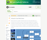 Antarctic Food Web Game