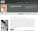 Fahrenheit 451 by Ray Bradbury - Reader's Guide (Spanish)