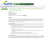 Investigating Joints: Naming and Identifying Joints in the Human Body