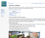 ISKME's Teachers as Makers Academy