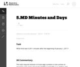5.MD Minutes and Days