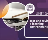 Test and Revise the Learning Environment