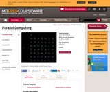 Parallel Computing, Fall 2011