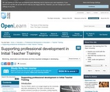 Supporting Professional Development in Initial Teacher Training