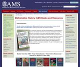 AMS Books Online