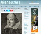 A Survey of Shakespeare's Plays