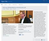 Environmental Politics and Law