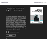 Adult Literacy Fundamental English - Course Pack 2