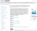 CB Trousse d'outils d'accessibilité pour les