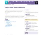 CS Fundamentals 4.1: Graph Paper Programming