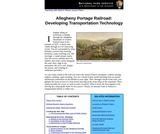 Allegheny Portage Railroad: Developing Transportation Technology