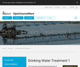 Drinking Water Treatment 1 - Technology