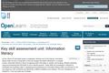 Key Skill Assessment Unit: Information Literacy
