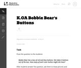 Bobbie Bear's Buttons