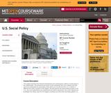 U.S. Social Policy, Spring 2006