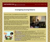 Algebra: Growing Patterns