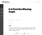 Find the Missing Angle