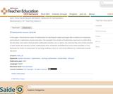 Mathematics for Teaching Matters