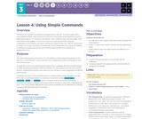 CS Principles 2019-2020 3.4: Using Simple Commands