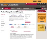 Pattern Recognition and Analysis, Fall 2006