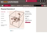 Physical Chemistry II, Spring 2008
