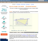 Area of a triangle using the box method (Coordinate Geometry)