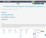 The Global Universal Design for Learning (UDL) Classroom