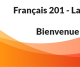 French 201 - Summer - ONLINE
