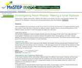 Investigating Moon Phases:  Making a lunar flipbook