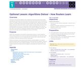 CS Principles 2019-2020 1.11.19: Algorithms Detour - How Routers Learn