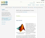 MATLAB: An Introductory Course